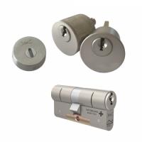 Ombouwset met RVS kerntrekrozet + M&C Matrix cilinder (1x) - SKG***