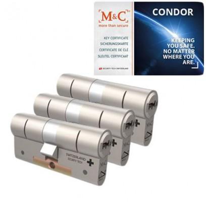 Set van 3 M&C Condor cilinders SKG***
