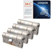 Set van 4 M&C Condor cilinders SKG***