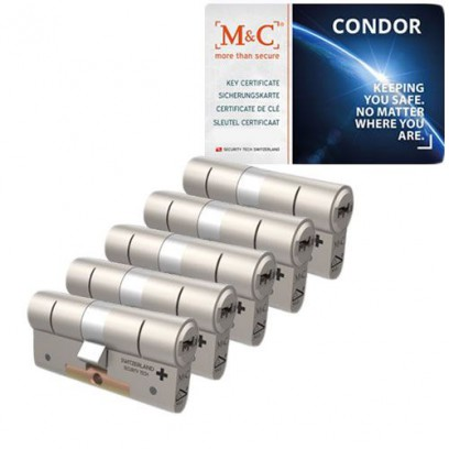 Set van 5 M&C Condor cilinders SKG***