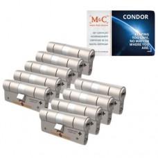 Set van 9 M&C Condor cilinders SKG***