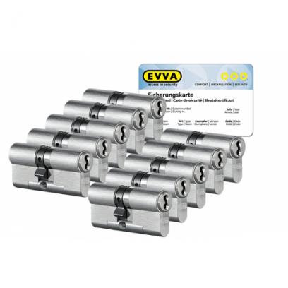10x EVVA 4KS cilinder SKG***