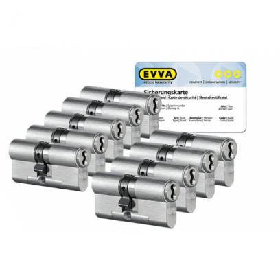 9x EVVA 4KS cilinder SKG***