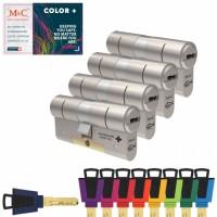 Set van 4 M&C Color+ cilinders SKG***