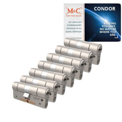 Set van 7 M&C Condor cilinders SKG***