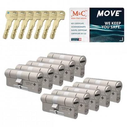 Set van 10 M&C Move cilinders SKG