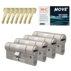Set van 4 M&C Move cilinders SKG***