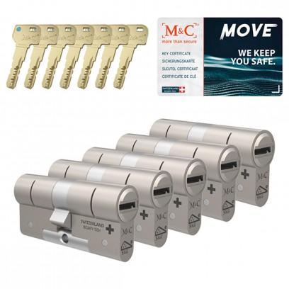 Set van 5 M&C Move cilinders SKG***