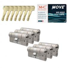 Set van 6 M&C Move cilinders SKG***