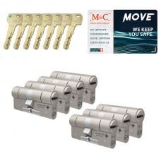 Set van 7 M&C Move cilinders SKG***