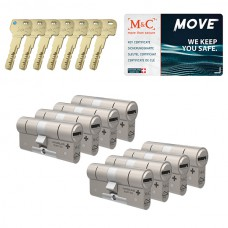 Set van 8 M&C Move cilinders SKG***