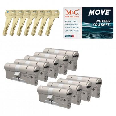 Set van 9 M&C Move cilinders SKG***