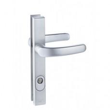 M&C smalschild veiligheidsbeslag kruk/kruk met kerntrekbeveiliging aluminium (rechthoekig) – SKG***